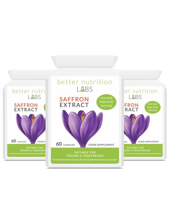 3X Saffron Extract - Saffron Extract (180 Capsules) 3 Month Supply