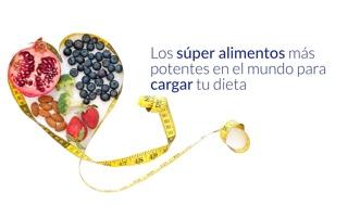 superfoods to supercharge your diet ES - Los superalimentos más potentes del mundo para aumentar la capacidad de su dieta