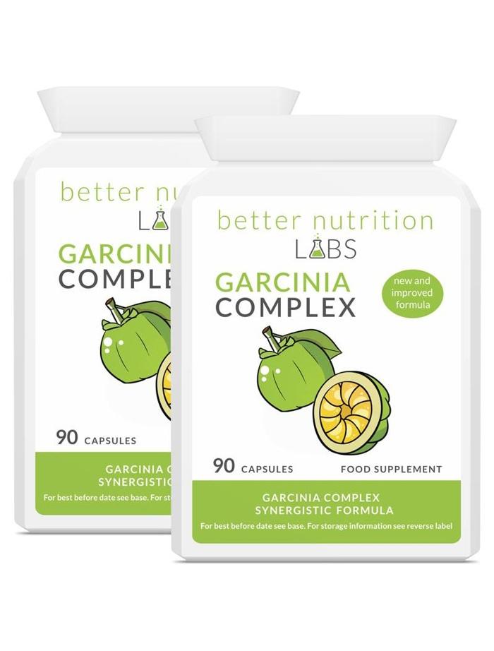 2X Garcinia Complex - Garcinia Cambogia Complex - 2 Month Supply 180 Capsules