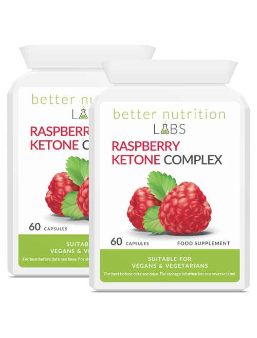 2X raspberry ketone complex - Raspberry Ketone Complex - 2 Månader Leverans