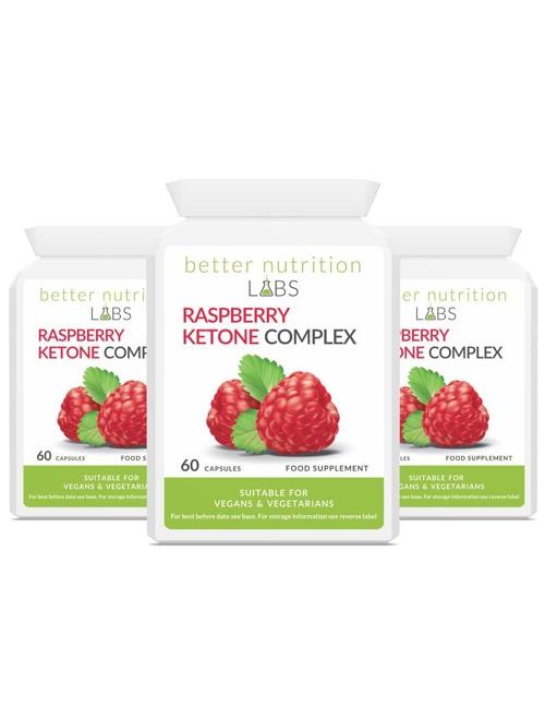 3X raspberry ketone complex - Raspberry Ketone Complex - 3 Månader Leverans