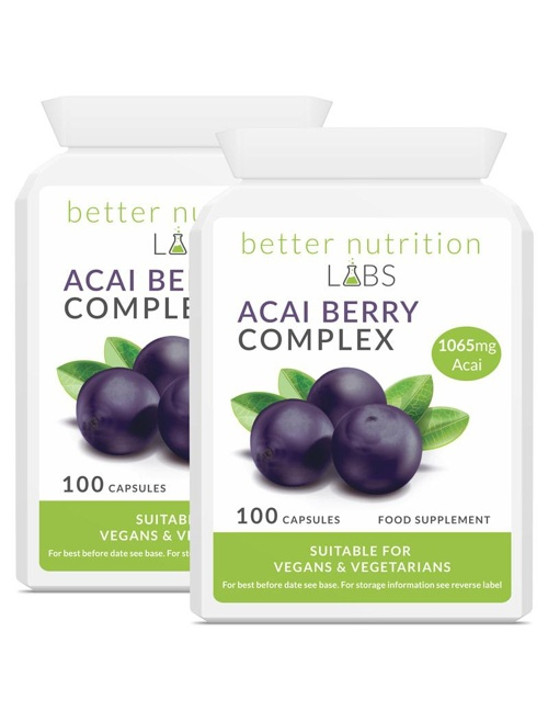 2X Acai Berry Complex - Acai Berry Complex - 2 Month Supply