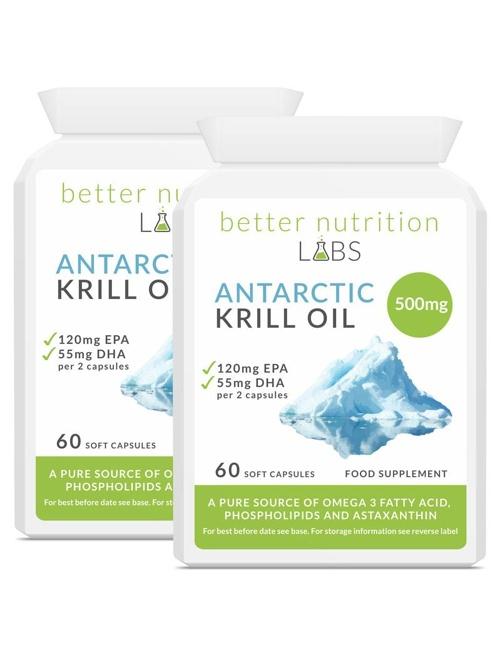 2X Antarctic Krill Oil - Antarctic Krill Oil - Oferta 2 meses