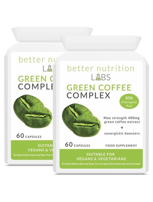 2X Green Coffee Complex - Green Coffee Complex - 2 Månader Leverans