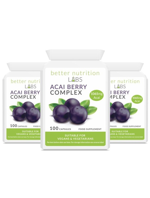 3X Acai Berry Complex - Acai Berry Complex - 3 Month Supply