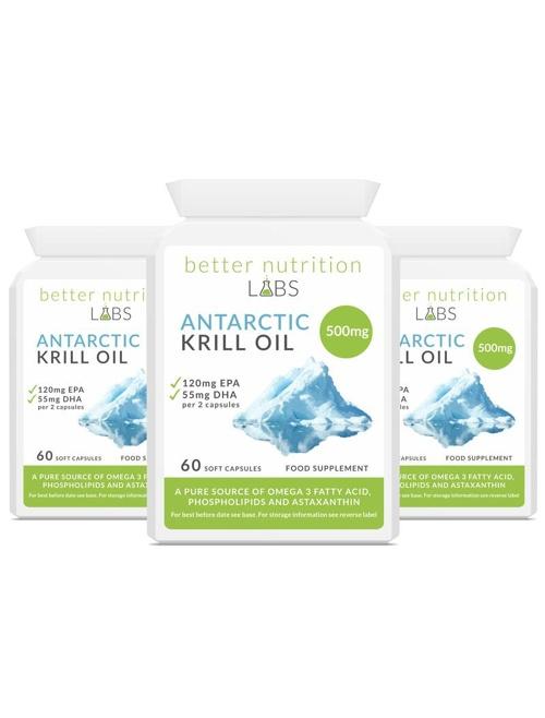 3X Antarctic Krill Oil - Antarctic Krill Oil - Oferta 3 meses