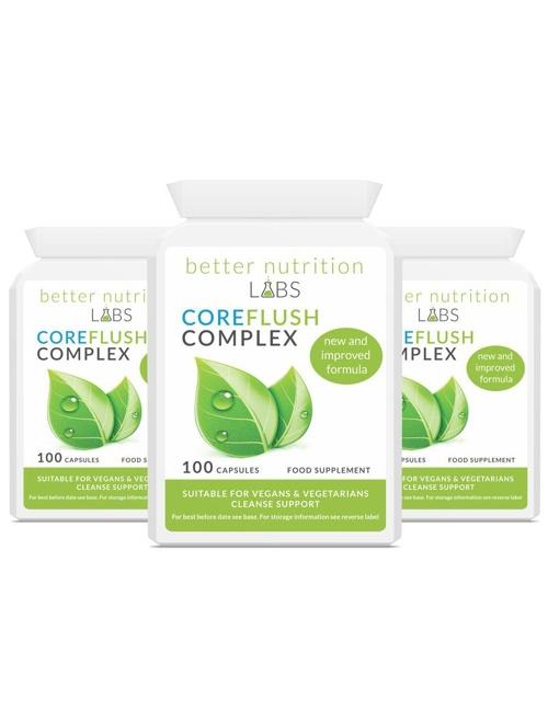 3X CoreFlush Complex - CoreFlush Complex - Oferta 3 meses