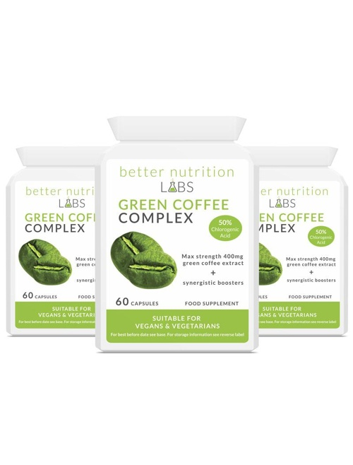 3X Green Coffee Complex - Green Coffee Complex - 3 Month Supply