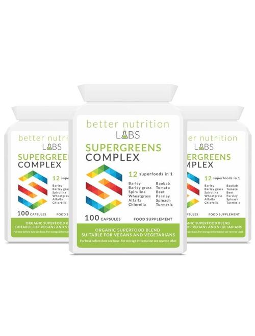 3X Supergreens Complex - Supergreens Complex - 3 Month Supply