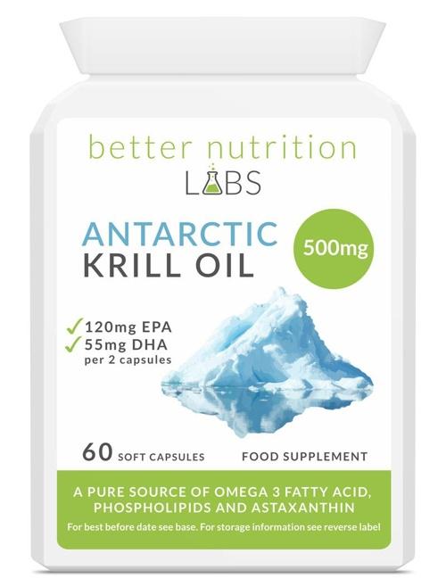 Antarctic Krill Oil - Antarctic Krill Oil (Óleo de Krill Antártico)