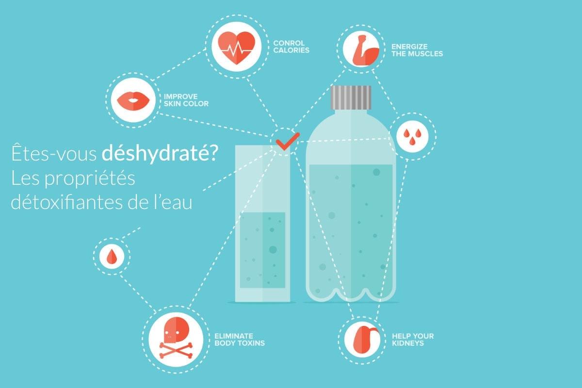 are you dehydrated the detoxifying properties of water FR - Êtes-vous déshydraté ? Les propriétés détoxifiantes de l'eau